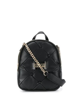 Quilted Small Backpack by Versace Jeans Couture