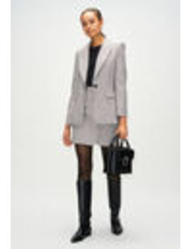 Checkered Suit Jacket by Claudie Pierlot
