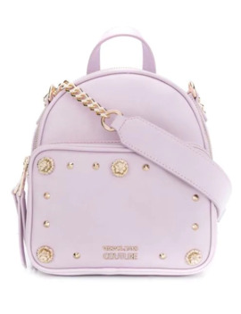 Embellished Backpack by Versace Jeans Couture