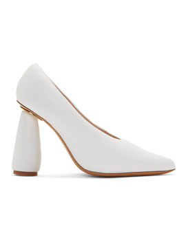 White 'les Chaussures Jacques' Heels by Jacquemus