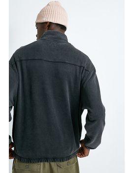 Long Gone Uo Exclusive – Verwaschenes Sweatshirt Mit Stehkragen by Long Gone Shoppen