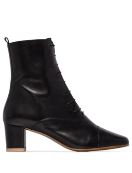 Lada 50mm Lace Up Ankle Boots by By Far