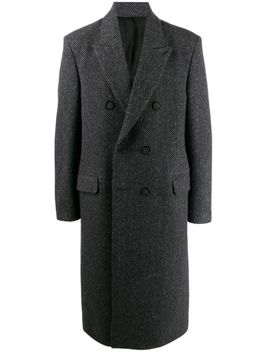 Herringbone Double Breasted Coat by Acne Studios