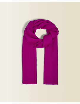 Merino And Silk Pashmina Scarf by Jigsaw