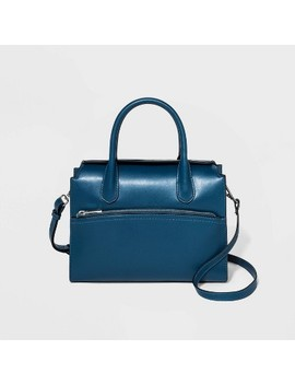 Flap Closure Satchel Handbag   A New Day™ by A New Day
