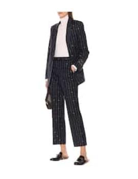 Pantaloni Gg In Lana by Gucci