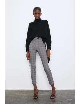 Legging A Quadri by Zara