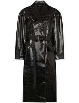 Laminated Effect Trench Coat by Simone Rocha
