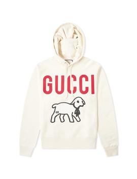 Gucci Lamb Logo Hoody by Gucci