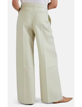 Wool Twill Wide Leg Trousers by Jil Sander