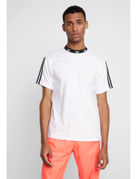 Trefoil Rib Tee   T Shirt Print by Adidas Originals