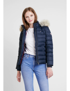 Essential Hooded Jacket   Daunenjacke by Tommy Jeans