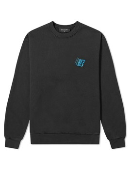 Bronze 56k Embroidered B Logo Crew Sweat by End.