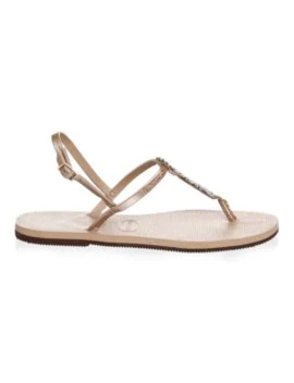 You Riviera Crystal Sandals by Havaianas