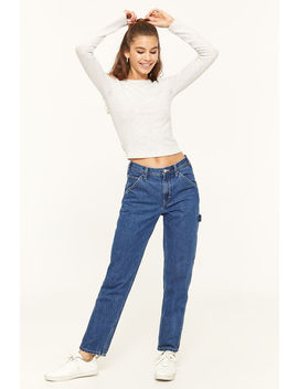 High Rise Mom Jeans by Ardene