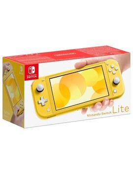 Nintendo Switch Lite   Yellow by Smyths