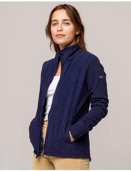 Roxy Fleece Surface Zip Front Womens Jacket by Roxy