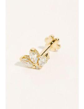 Small Lotus Threader Single Stud Earring by Maria Tash