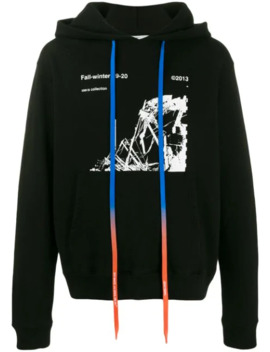 Mönstrad Huvtröja by Off White