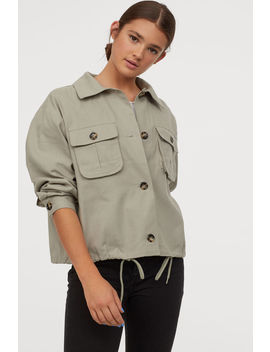 Gabardin Ceket by H&M