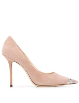 Verzierte 'love 100' Pumps by Jimmy Choo
