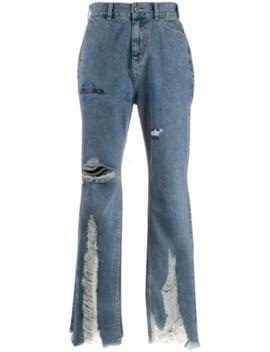 Jeans Med Lös Passform Och Slitning by Ader Error