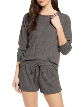 Snuggle Up Thermal Short Pajamas by Bp.