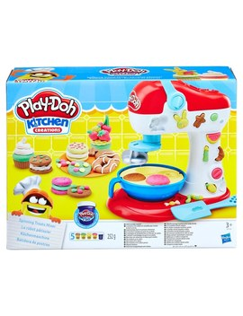 Play Doh Kitchen Creations Spinning Treats Mixer by Smyths