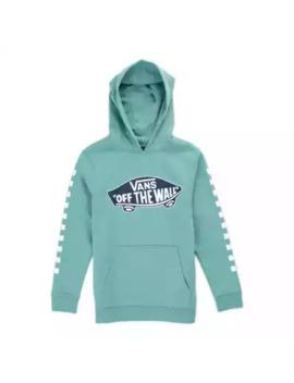 Boys Otw Check Pullover Hoodie by Vans