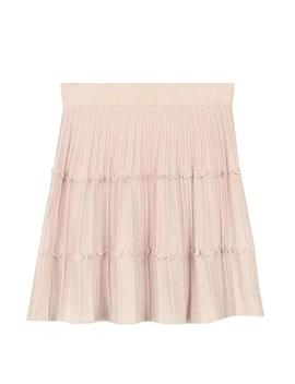 'juliana' Pleated Knit Mini Skirt (2 Colors) by Goodnight Macaroon