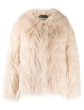Oversized Faux Fur Jacket by Bellerose
