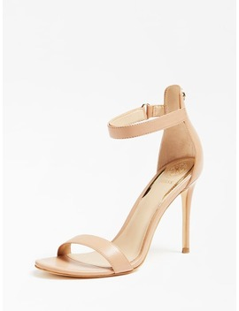 Kahlua Real Leather Sandal by Guess
