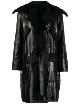 Shearling Lined Coat by Yves Salomon