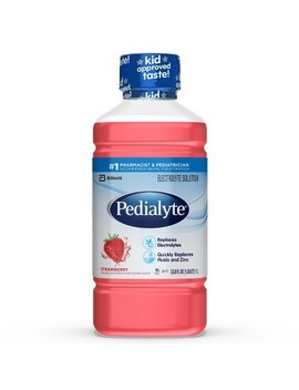 Pedialyte Electrolyte Solution  Strawberry   1 L by Pedialyte