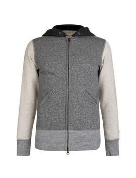 Zipped Hooded Sweatshirt by Champion
