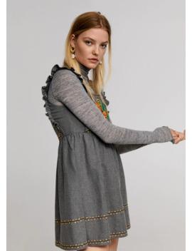 Robe Courte Brodée by Mango
