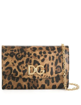 Leopard Printed Purse by Dolce & Gabbana