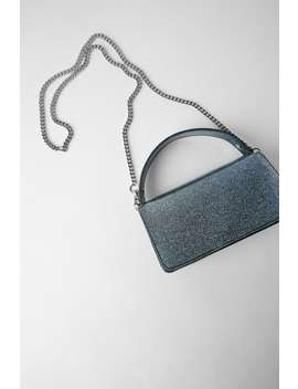Shimmery Mini City Bag by Zara