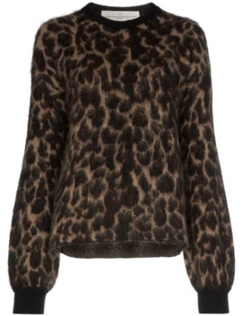 Leopard Pattern Jumper by Golden Goose