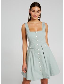 Brianna Button Dress by Portmans