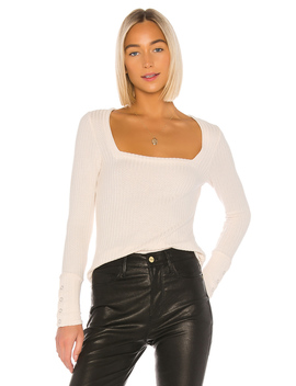 Square Neck Long Sleeve Tee by Chaser