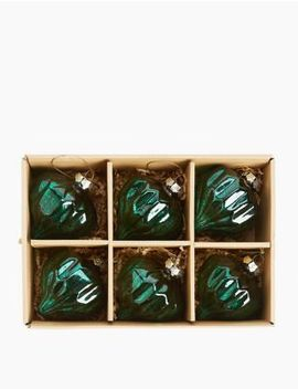 6 Pack Mercury Jewel Baubles by Marks & Spencer