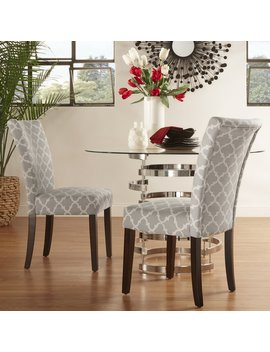Lea Upholstered Dining Chair by Wayfair