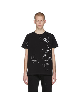 Black Painter Standard T Shirt by Helmut Lang
