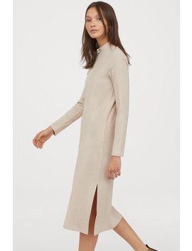 Ribanalı Dik Yakalı Elbise by H&M