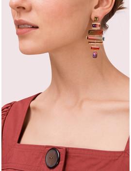 Geo Gems Statement Earrings by Kate Spade