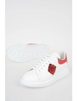 Sneakers In Pelle Larry by Alexander Mc Queen