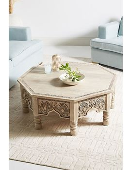 Raaz Octagon Storage Coffee Table by Anthropologie