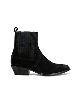 Western Ankle Bootie by Saint Laurent