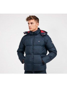 Essential Down Jacket | Black Iris by Tommy Jeans